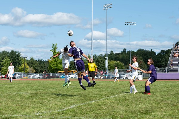 BUHS boys soccer vs. Green Mountain UHS 090421