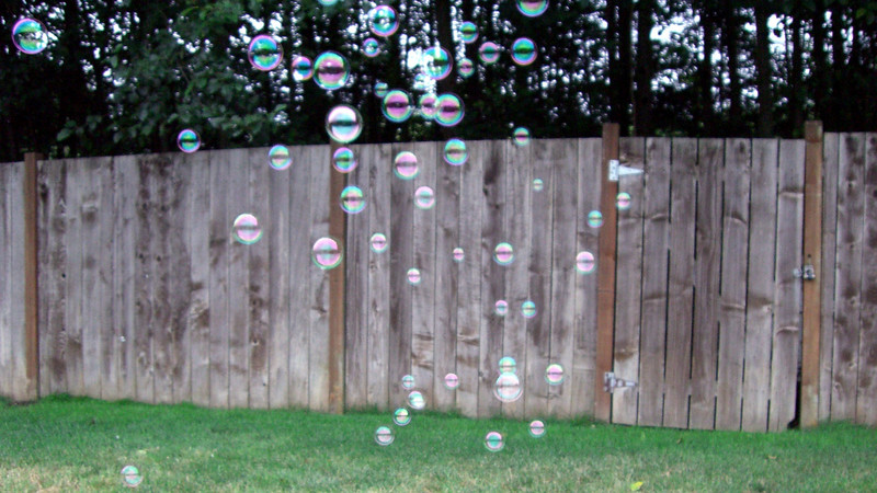 Bubbles everywhere!