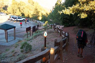 7/29/2007 - Mt. Baden-Powell Training Hike