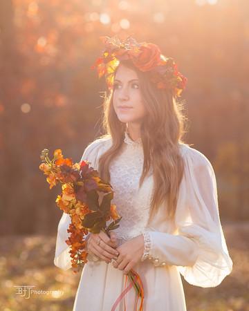 Vintage Autumn Bride