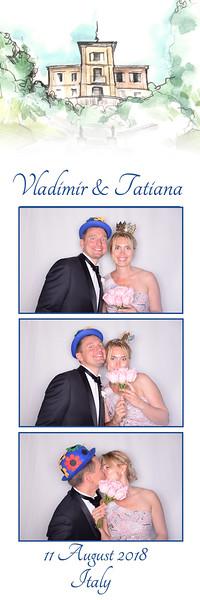 Photobooth matrimonio Vladimir e Tatiana - 11 Agosto 2018 - Stresa Photo booth con Fotocabina