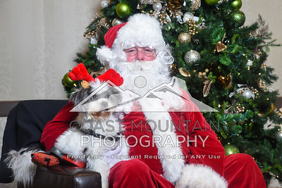 WAG Santa & Dog Portraits