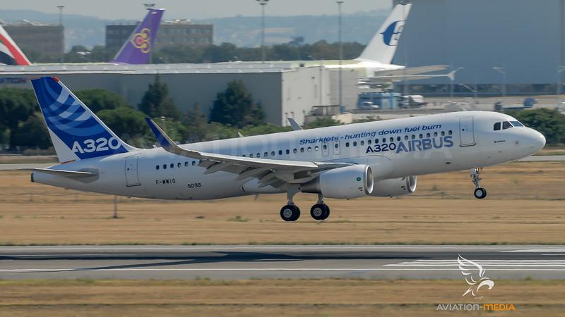 Airbus Industries / Airbus A320-216(SL) / F-WWIQ