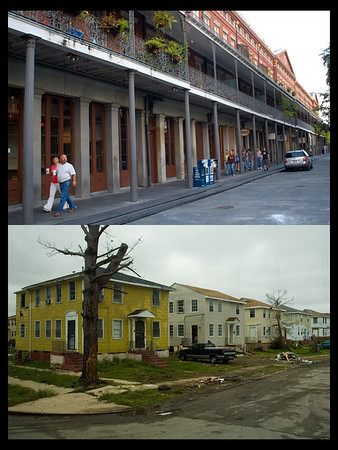 New Orleans--A city of two tales, Oct 2006