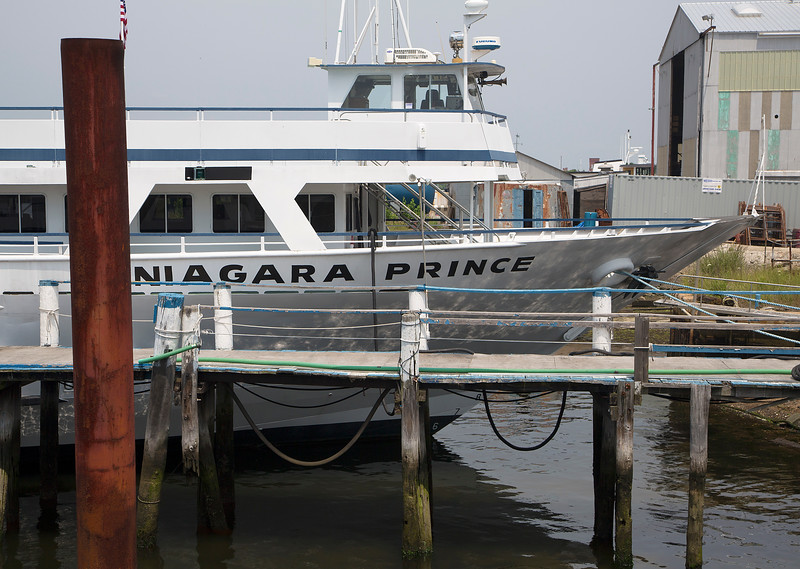 The Niagra Prince is now up for sale -- but still a pretty boat.