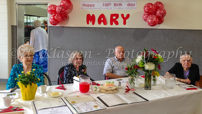 Mary Penner 100th