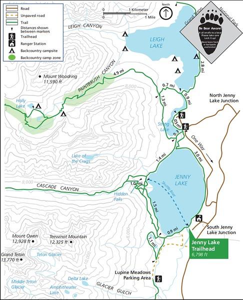 Grand Teton National Park (Jenny Lake Trailhead)