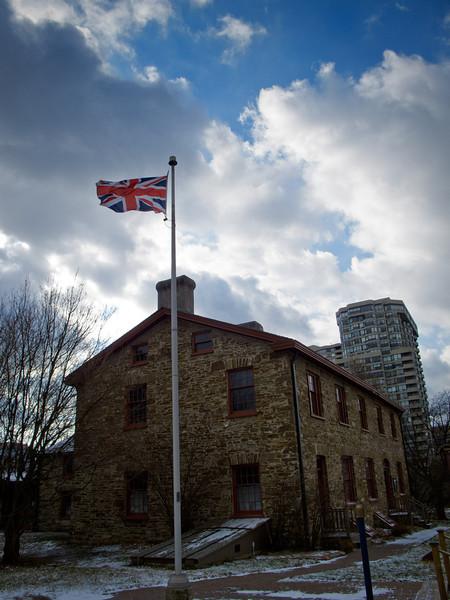 The Old Flag Still Flies Over Montgomery's Inn