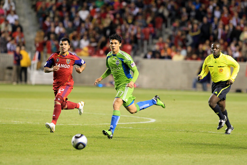 MLS: APR 10 Seattle Sounders at Real Salt Lake