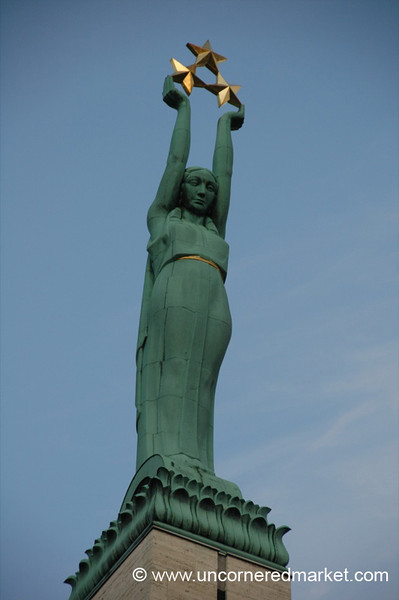 Freedom Monument - Riga, Latvia