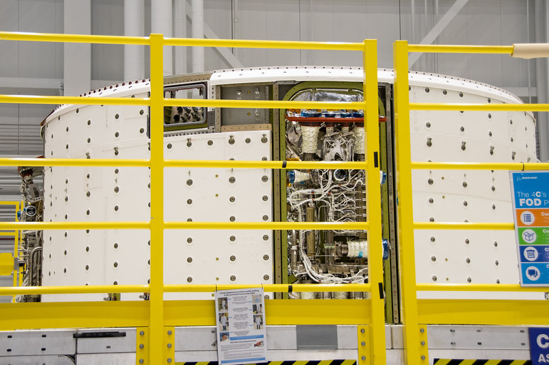 Starliner Crewed Flight Test service module