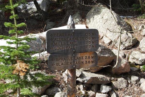 Alberta Falls The Loch - RMNP
