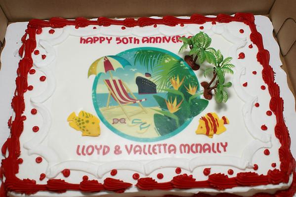 McNally 50th Wedding Anniversary