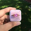 2.40ct Pink Sapphire Ring, by Rose Gold Ring by Beverly K 19