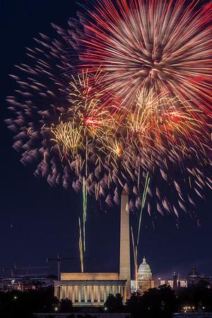 Fireworks (DC July 4, 2014)