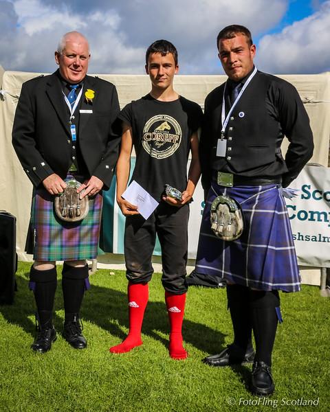 Scottish Backhold Wrestling Prize Winner - Goulven Tassel (Breton)