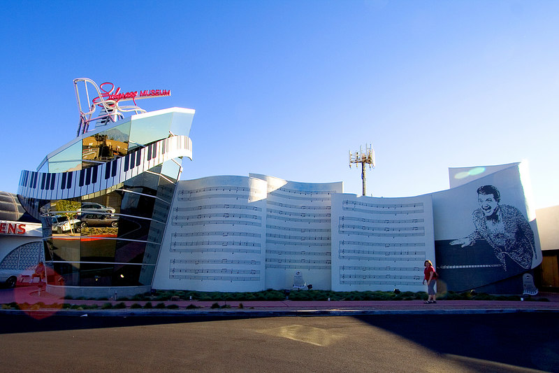 One of the few places we hadn't visited in our previous trips to Vegas was the Liberace museum.