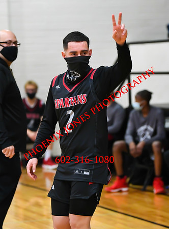 1-28-2021 - Phoenix Christian v Leading Edge GEC - Boys Basketball
