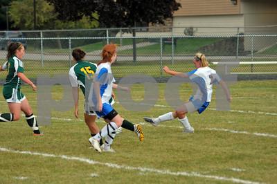 Milton Girls Soccer Varsity 2010 vs. St. Albans