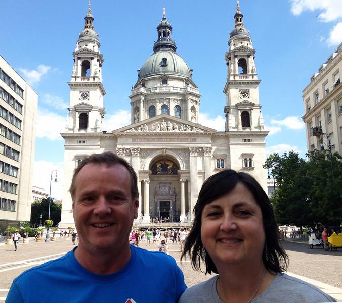 Bonus Day 1 - St. Stephen's, Budapest Hungary