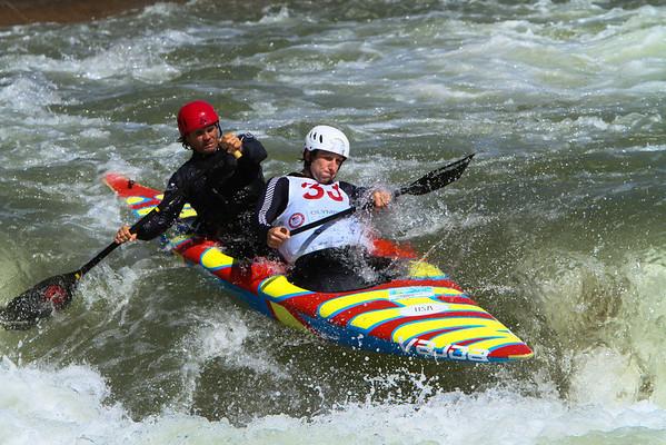 US Olympic Canoe Slalom Trials - Day 1