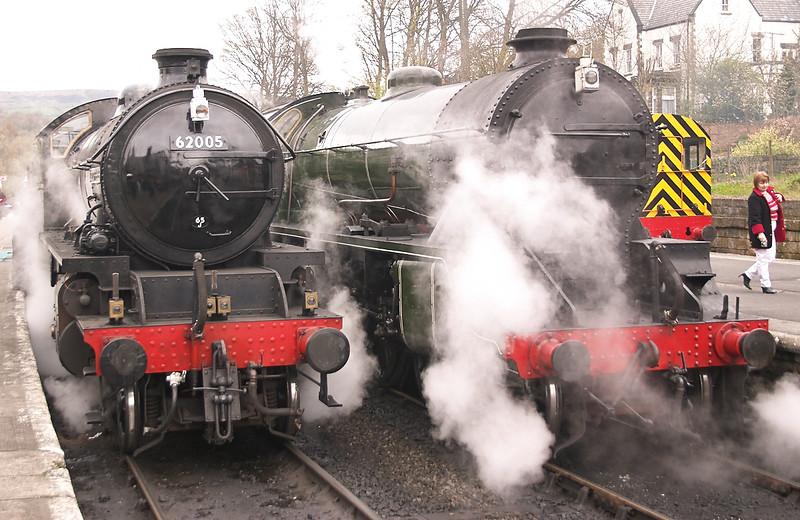 Some Steam Trains - Grosmont, 2004