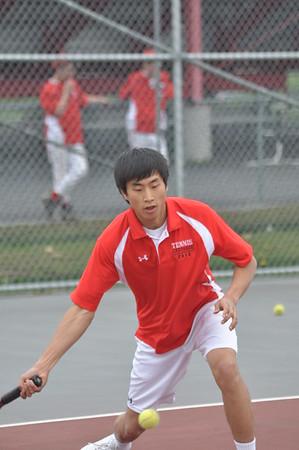 Boys Tennis vs Lowville 4-30-12