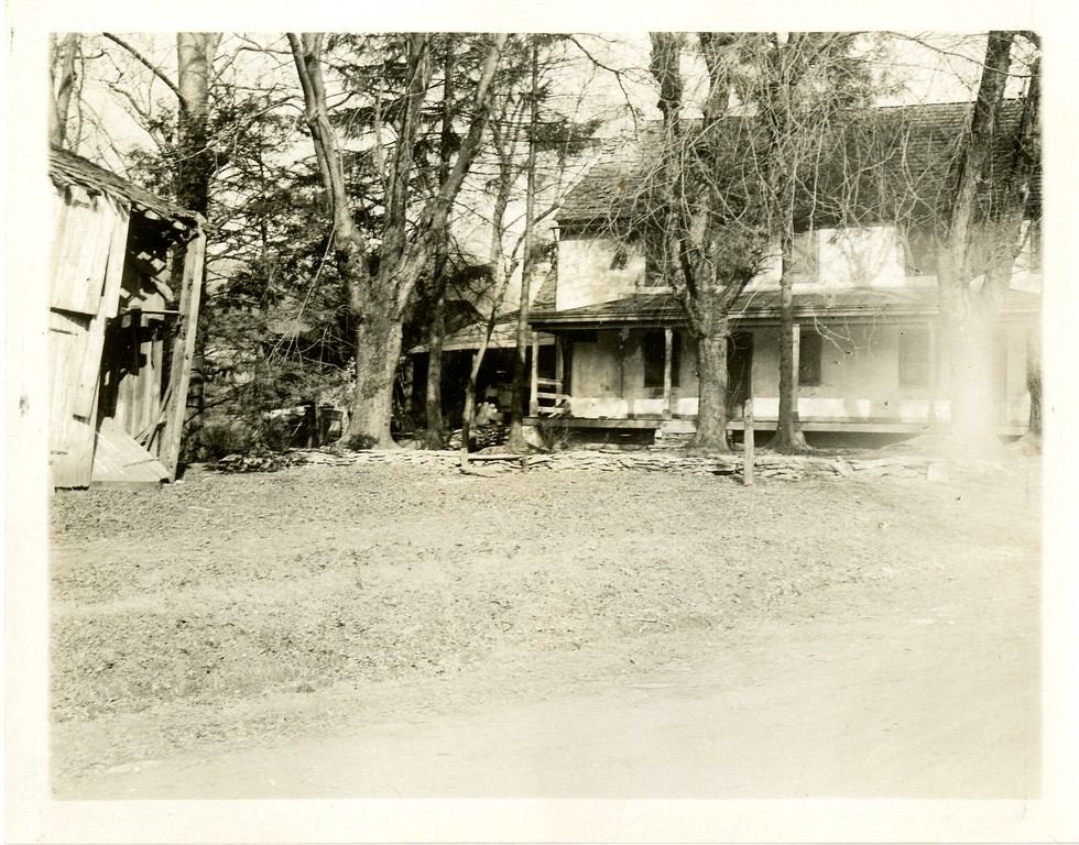 . This undated photo from the Historical Society of Montgomery County shows the Bird in Hand Tavern, which was located in Gulph Mills.