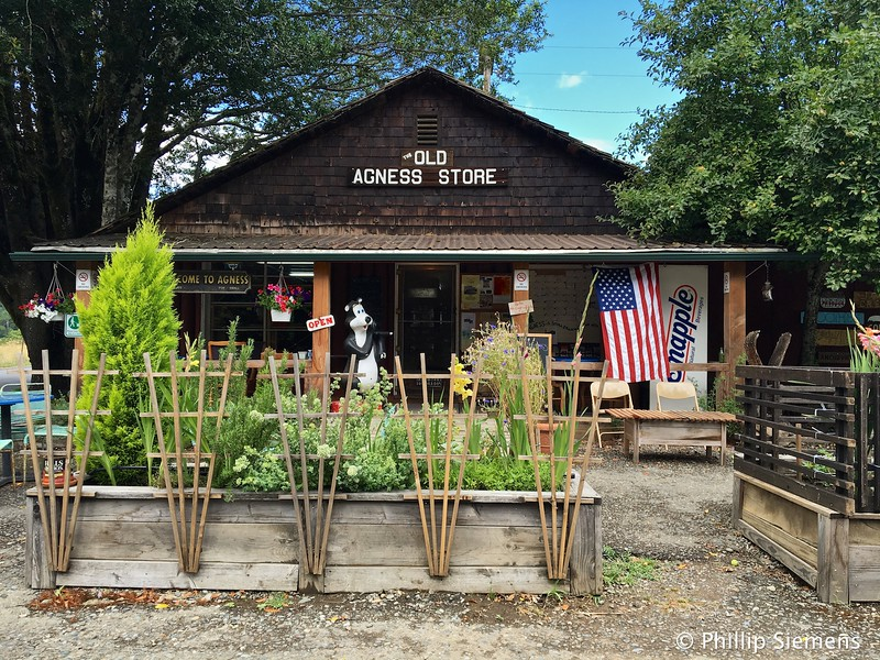 Store in Agness on the Rogue River