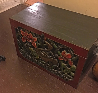 Chris's wooden chest