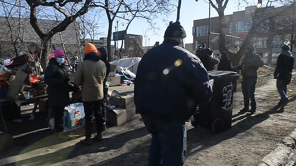 Rev Jesse L Jackson, Sr. Feed the Homeless