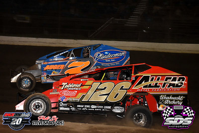 Grandview Speedway - 8/15/20 - Steve Sabo (SDS)