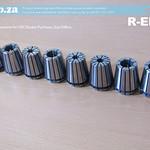 SKU: R-ER32, ER32 Collet Set, Includes 8 ER32 Collects in Random Size