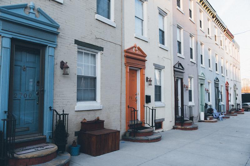 Houses on Schuylkill Ave, Philidelphia