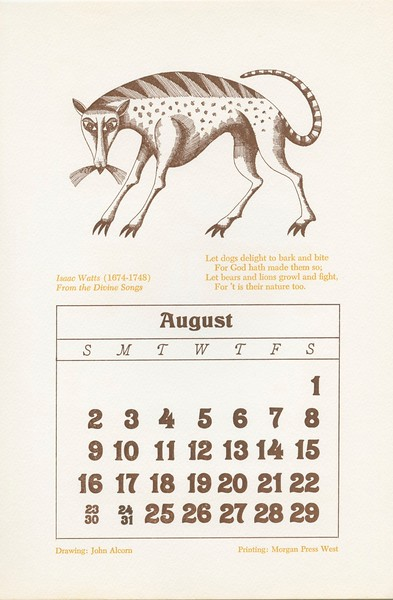August, 1964, Morgan Press