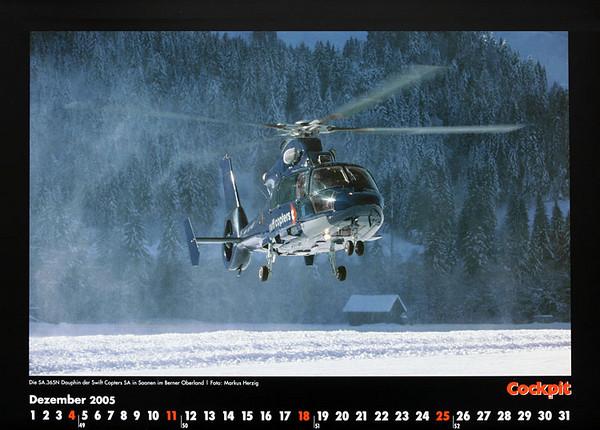 Cockpit Calendar – Rotorworld Dec 2005