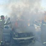 Car Fire 1/12/08