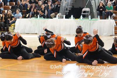 01-07-2012 Rockville HS Poms Competition at Damascus HS, Photos by Jeffrey Vogt Photography