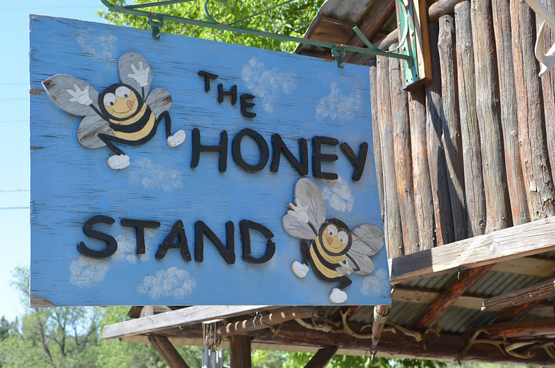 I had bought some great honey here in about 1977, so we had to stop.