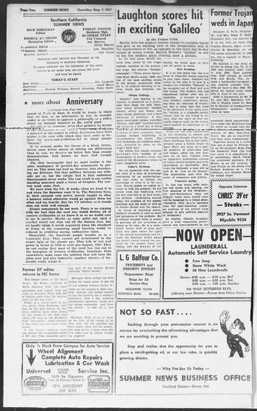 Summer News, Vol. 2, No. 19, August 07, 1947