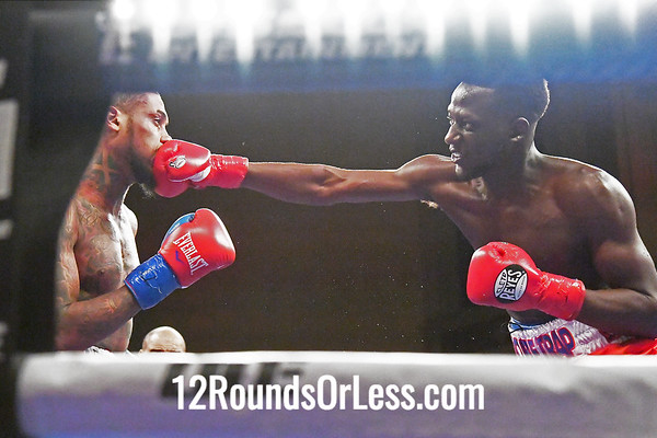 Bout #1:  Boubacar Sylla, Cincinnati, OH  vs.  Marlon Brown, Brooklyn, NY   Welterweights