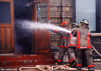 March 27, 2001 - 6th Alarm - 633 Eastern Ave.