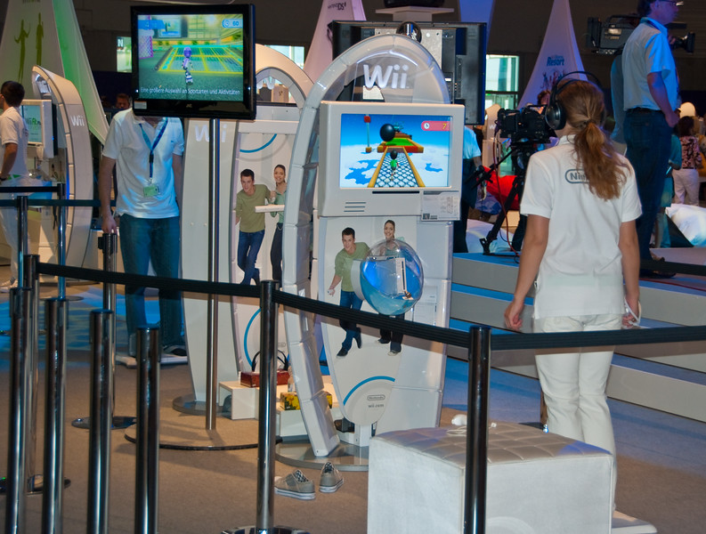 Wii Walk at GamesCom