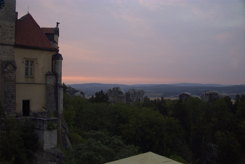Orea Castle and the Hills of Hruba Skala, Czech Republic