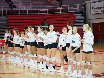 Manhattan College Jaspers Volleyball at the 2018 Kaiser Classic