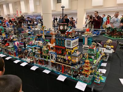 Brick-con Seattle Center