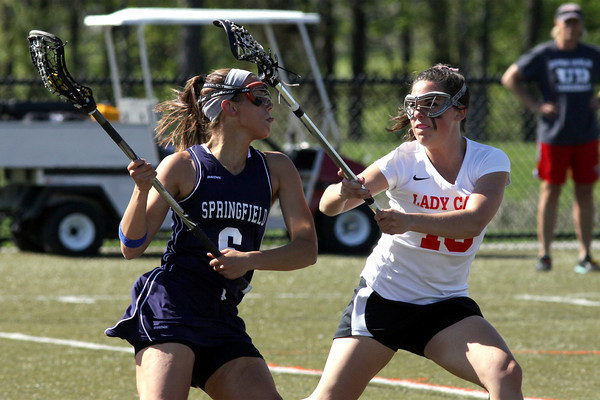 Springfield at Upper Dublin girls lacrosse