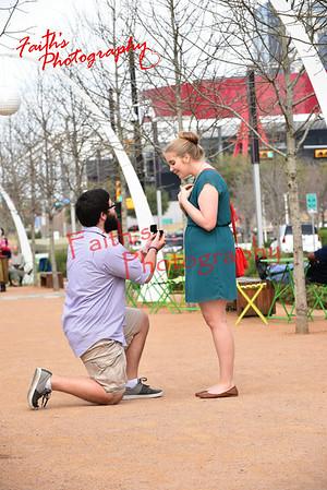 Baylor proposes to Kelli  031915