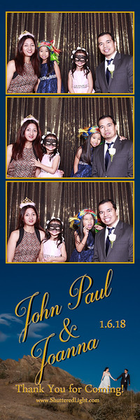 JP and Joanna Photobooth Wedding