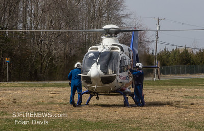 03/30/2019, MVC, Commercial Twp. Cumberland County NJ, North Ave. iao James Moore Rd.